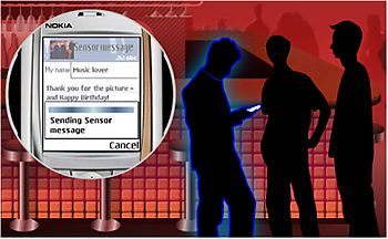 NokiaSensor-Sending