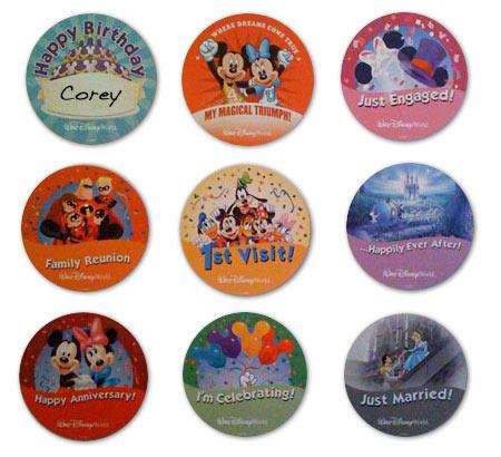 DisneyButtons