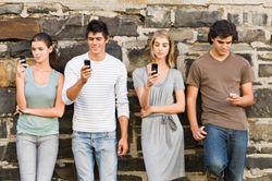 PeopleStaringAtPhones