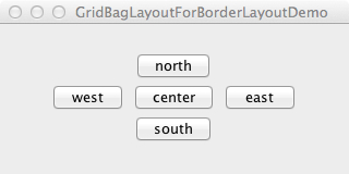 GridBagLayoutForBorderLayoutDemo_screenshot0