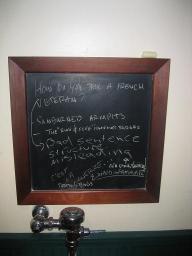 Blackboardoverurinal